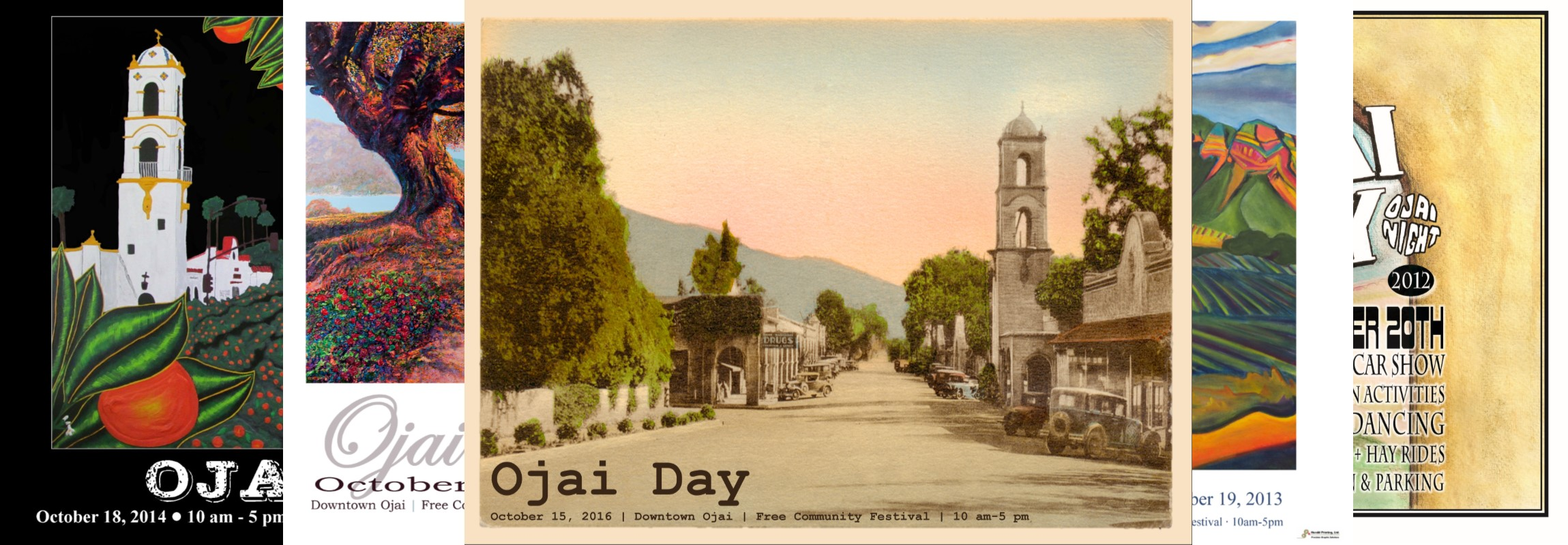Ojai Day Posters!